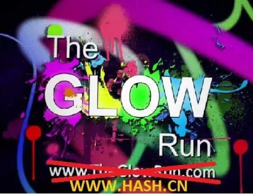 This FRIDAY Full Moon HHH Run #119: The Glow Run