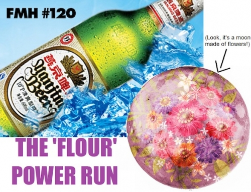 Full Moon HHH Run #120: The 'Flour' Power Run