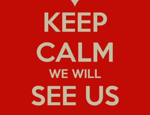 Keep calm we will see us soon!
