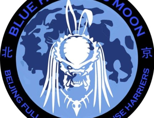Full Moon Hash #157: The Blue Hunter's Halloween Moon