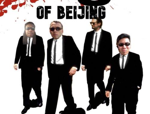 Beijing Boxer Hash #196: Reservoir Dogs (of Beijing)
